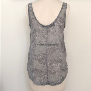 0fc2055ae7c2 Patterson J. Kincaid Tops - PATTERSON J. KINCAID Sheer Print Tank Top